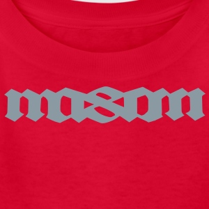 MASON palindromic top first name Kids' Shirts - Kids' T-Shirt
