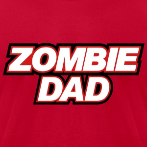 ZOMBIE DAD - Men's T-Shirt by American Apparel