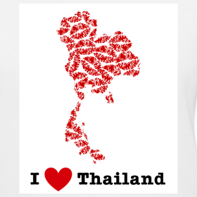 Design ~ I Love Thailand V-Neck
