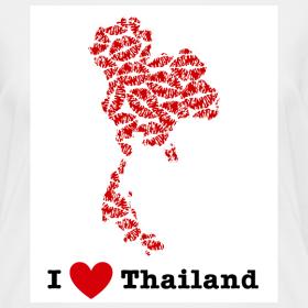 Design ~ I Love Thailand V-Neck