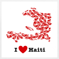 Design ~ I Love Haiti V-Neck