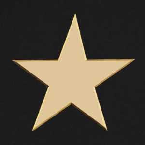 GOLD STAR T-Shirts - Men's V-Neck T-Shirt by Canvas