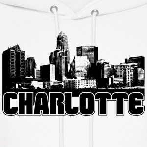 Charlotte Skyline Hooded Sweatshirt - Men's Hoodie