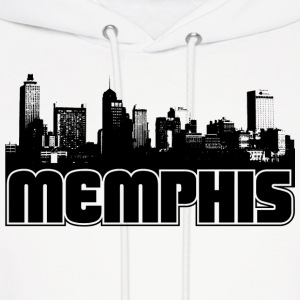 Memphis Skyline Hooded Sweatshirt - Men's Hoodie
