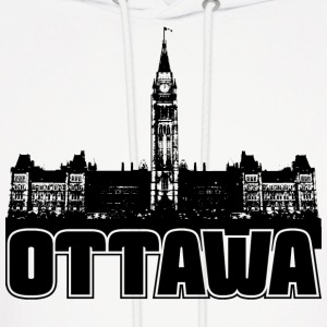 Ottawa Skyline Hooded Sweatshirt - Men's Hoodie