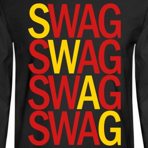 SWAG TWO COLOR VECTOR Long Sleeve Shirts - Men's Long Sleeve T-Shirt