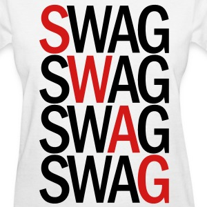 SWAG TWO COLOR VECTOR Women's T-Shirts - Women's T-Shirt