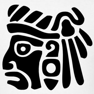 Mayan Face VECTOR T-Shirts - Men's T-Shirt