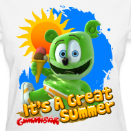 Design ~ It's A Great Summer Ladies T-Shirt