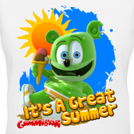 Design ~ It's A Great Summer Ladies V-Neck T-Shirt