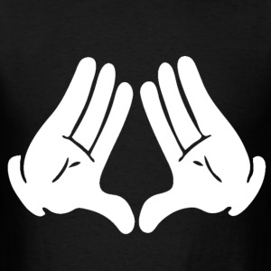Most Dope Diamond Hands Design T-Shirts - Men's T-Shirt