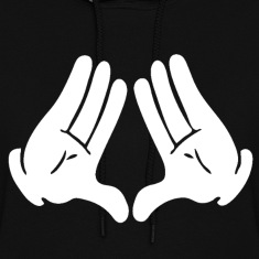 Most Dope Diamond Hands Design Hoodies