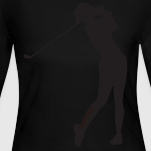 Golf - Women's Long Sleeve Jersey T-Shirt
