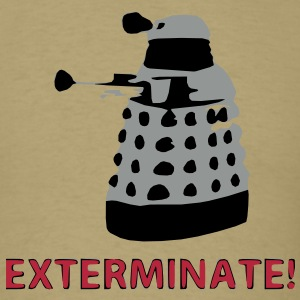 Dalek - exterminate T-Shirts - Men's T-Shirt