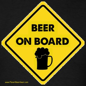 Beer On Board T-Shirt - Men's T-Shirt