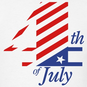 4th of July TWO COLOR VECTOR T-Shirts - Men's T-Shirt