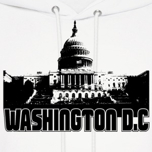 Washington DC Skyline Hooded Sweatshirt - Men's Hoodie