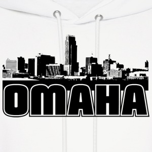 Omaha Skyline Hooded Sweatshirt - Men's Hoodie