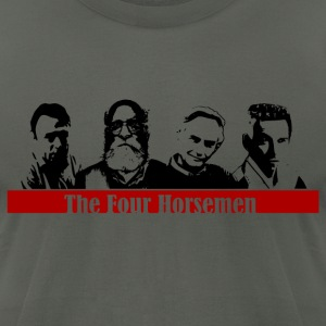 The 4 Horsemen - Men's T-Shirt by American Apparel
