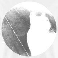 Design ~ Black & White Kitty Cat Graphic Print Classic Cut T-Shirt