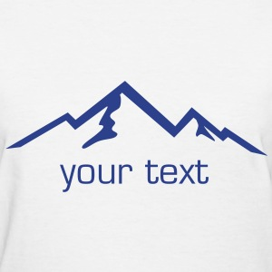 Mountain, Mountains, Hiking Women's T-Shirts - Women's T-Shirt