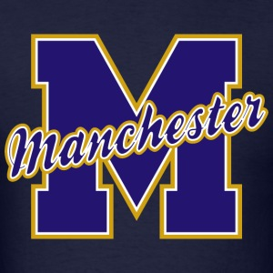 Manchester Letter Standard Weight T-Shirt - Men's T-Shirt