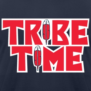 TRIBE TIME - Men's T-Shirt by American Apparel