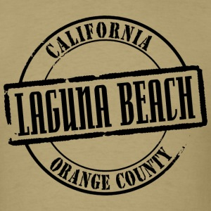 Laguna Beach Title Standard Weight T-Shirt - Men's T-Shirt
