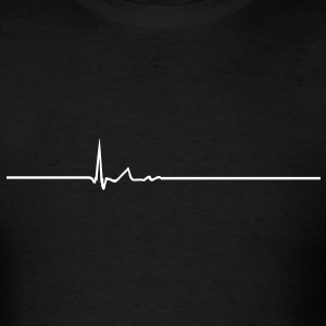 Heart Beat VECTOR T-Shirts - Men's T-Shirt