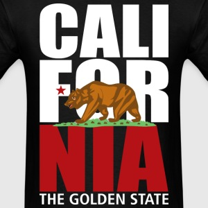 California 2 Colors - Men's T-Shirt