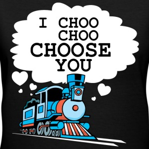 I CHOOSE YOU - Women's V-Neck T-Shirt