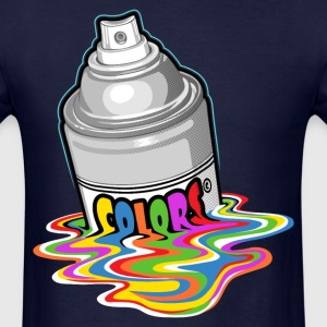 Melting spray T-Shirts - Men's T-Shirt