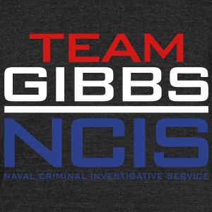 NCIS - Team Gibbs T-Shirts - Unisex Tri-Blend T-Shirt by American Apparel