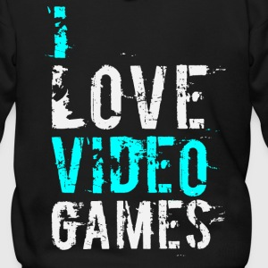 i love video games v1 Zip Hoodies/Jackets - Men's Zip Hoodie