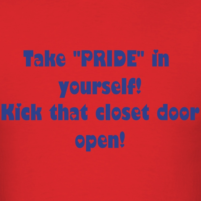 PRIDE in yourself (mens)