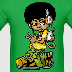 Vintage b-boy T-Shirts - Men's T-Shirt