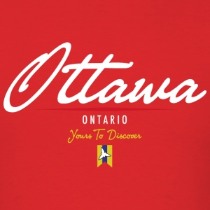 Ottawa Script Standard Weight T-Shirt - Men's T-Shirt