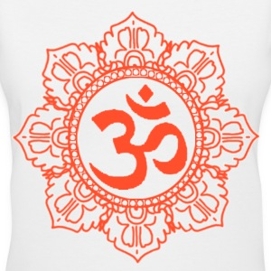 Aum Classic Design - Women's V-Neck T-Shirt