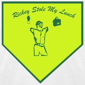 Rickey Stole My Lunch T-Shirts - Men's T-Shirt by American Apparel