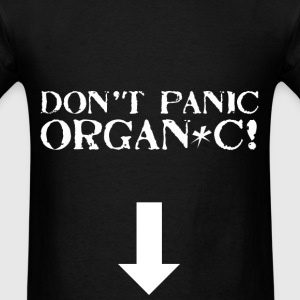 Don't Panic Organic - Men's T-Shirt