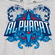 Design ~ Alphacat Grey Hoodie