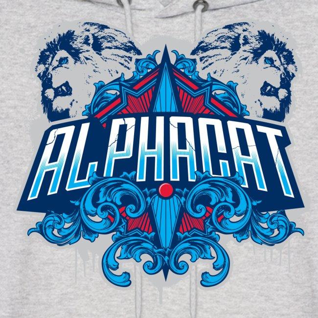 Alphacat Grey Hoodie