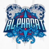 Design ~ Alphacat Women's Hoodie