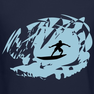 Surfer, Surfing Long Sleeve Shirts - Crewneck Sweatshirt