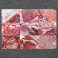 Design ~ Ham Grid Women's Standard Weight T-Shirt