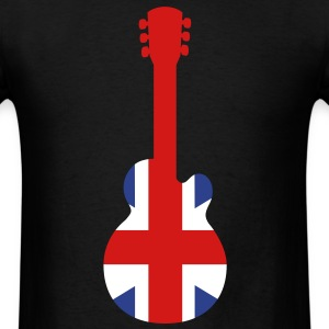 Great Britain Guitar T-Shirts - Men's T-Shirt
