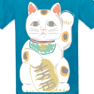 Japanese Lucky Cat Kids' Shirts - Kids' T-Shirt