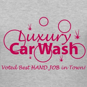 Car Wash - Hand Job - Women's V-Neck T-Shirt