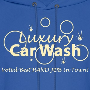 Car Wash - Hand Job - Men's Hoodie