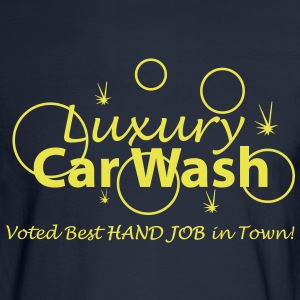 Car Wash - Hand Job - Men's Long Sleeve T-Shirt